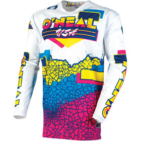 O'Neal Mayhem Trikot Crackle 91 Herren yellow/white/blue